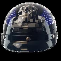 Motorcycle Helmet - Navy