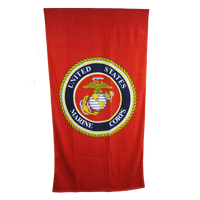30 X 60 Beach Towel - Marines