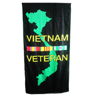 30 X 60 Beach Towel - Vietnam Veteran