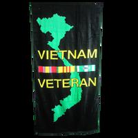Vietnam Veteran Beach Towel
