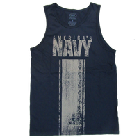 MADE IN USA Tank Top T-shirt  - Navy