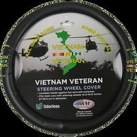 Vietnam Veteran Steering Wheel Cover