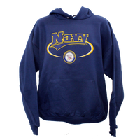 US Navy Banner Hooded Sweatshirt