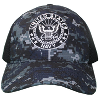MADE IN USA Caps Digital Mesh - Navy