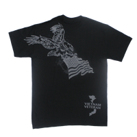 MADE IN USA Eagle Flag T-shirt - Vietnam Veteran
