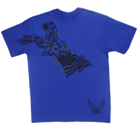 MADE IN USA Eagle Flag T-shirt - Air Force