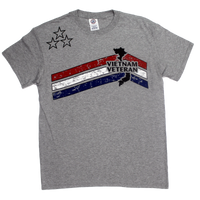 MADE IN USA Stars & Stripes T-shirt - Vietnam Veteran