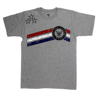 MADE IN USA Stars & Stripes T-shirt - Navy