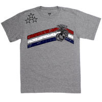 MADE IN USA Stars & Stripes T-shirt - Marines