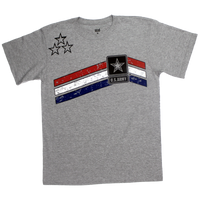 MADE IN USA Stars & Stripes T-shirt - Army