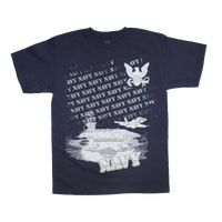 MADE IN USA Repeat T-Shirt - Navy