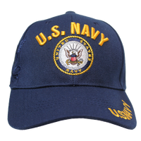 US Navy Shadow Embroidery Cap