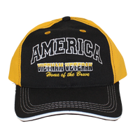 MADE IN USA Caps - Home of the Brave - Vietnam Veteran