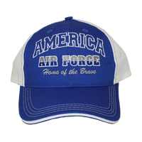MADE IN USA Caps - Home of the Brave - Air Force