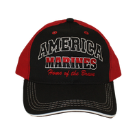 MADE IN USA Caps - Home of the Brave - Marines