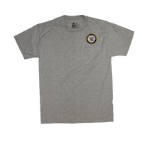 T-Shirts - Pocket - Navy Gray