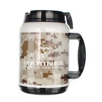 MADE IN USA 64 Oz Travel Mugs - Marines