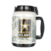 Made in the USA: US Army 64oz Travel Mug