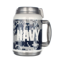 MADE IN USA 64 Oz Travel Mug - Navy