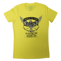 MADE IN USA Women's Here's to the Women Tee
