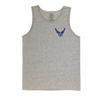 MADE IN USA Slogan Tank - Air Force
