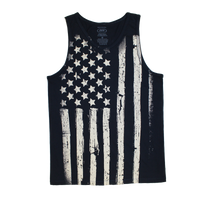 MADE IN USA Flag Tank - Navy