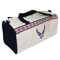 USA MADE Flag Duffle Bag - Air Force