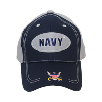 Caps - Oval - Navy