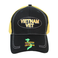 Caps - Oval - Vietnam Veteran