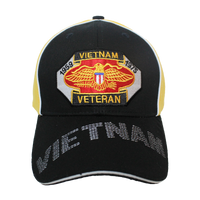 Caps - Piped - Vietnam Veteran