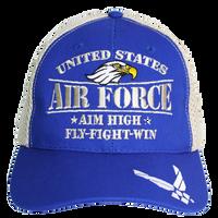 MADE IN USA Caps Foam Mesh - Air Force