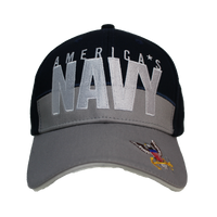 Caps - Logo - Navy