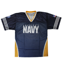 Sublimated Football Jersey - Navy
