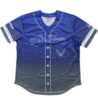 Sublimated Baseball Jersey - Air Force