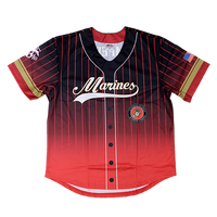 US Marines Sublimated Baseball Jersey