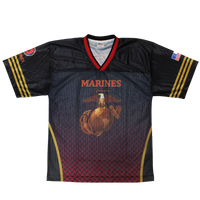 Sublimated Football Jersey - Marines