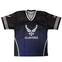 Sublimated Football Jersey - Air Force