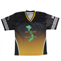 Sublimated Football Jersey - Vietnam Veteran