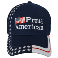 Caps-Embroidered- Proud American Navy