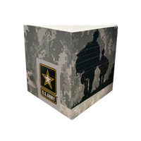 Post-It Cubes - USA Army