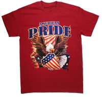 T-Shirts - American Pride - Red