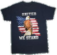 United We Stand Navy T-shirt