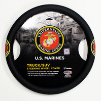 Truck/SUV Steering Wheel Cover - Marines