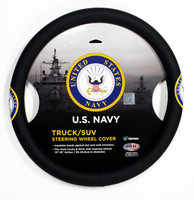 Truck/SUV Steering Wheel Cover - Navy