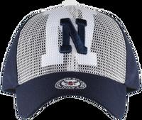 Caps - Mesh Overlay - Navy