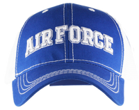 Caps - Mesh Print - Air Force