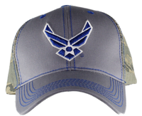 Caps - Camo Back- Air Force
