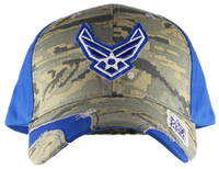 US Air Force Distressed Camo Cap