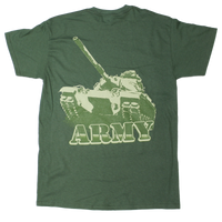 US Army Vehicle Back T-shirt
