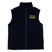 Made in the USA: Vietnam Veteran Polar Fleece Vest